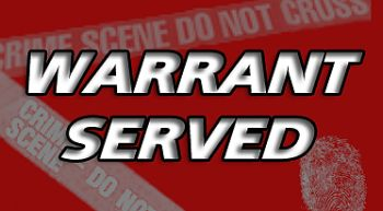 Warrant served to Edgerton resident on two counts of felony