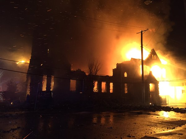 Methodist church in Sedalia destroyed by fire