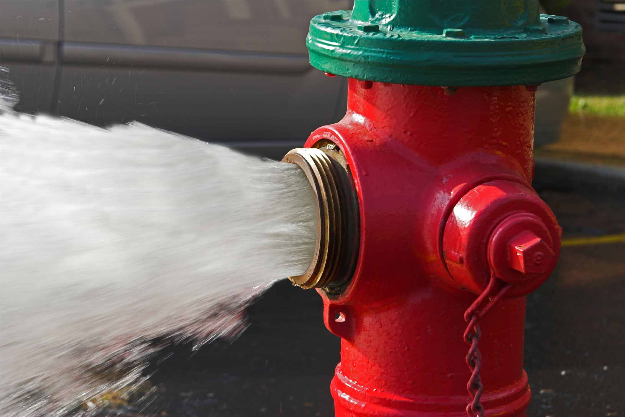 City of Braymer flushing water hydrants Tuesday, March 15th