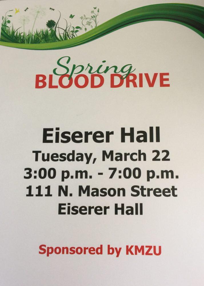UPDATE: KMZU hosts spring blood drive with Community Blood Center