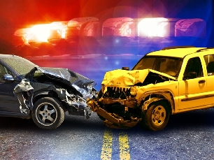 A head on collision caused minor injuries for a Princeton driver