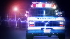 Kansas City man transported to hospital following two-vehicle crash yesterday