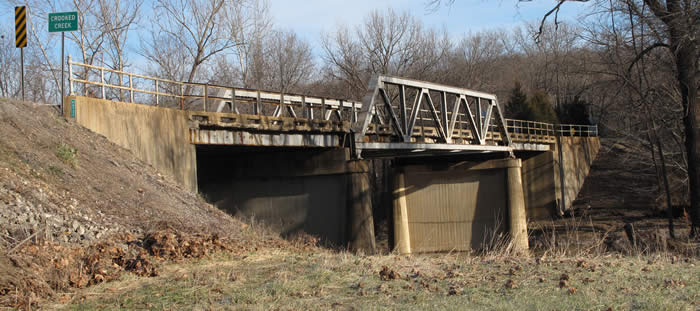 MoDOT announces opportunity to buy historic Crooked Creek Bridge