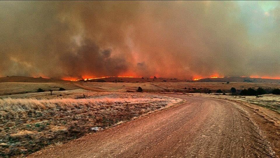 Kansas ranchers assessing fire damage
