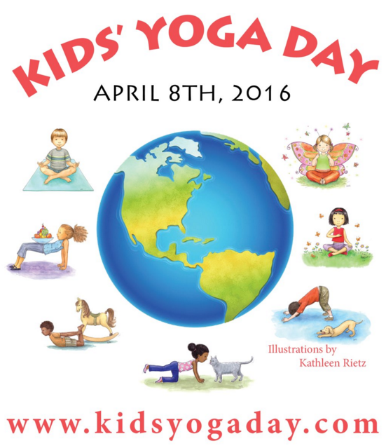 Bestselling author says yoga improves children's concentration, focus