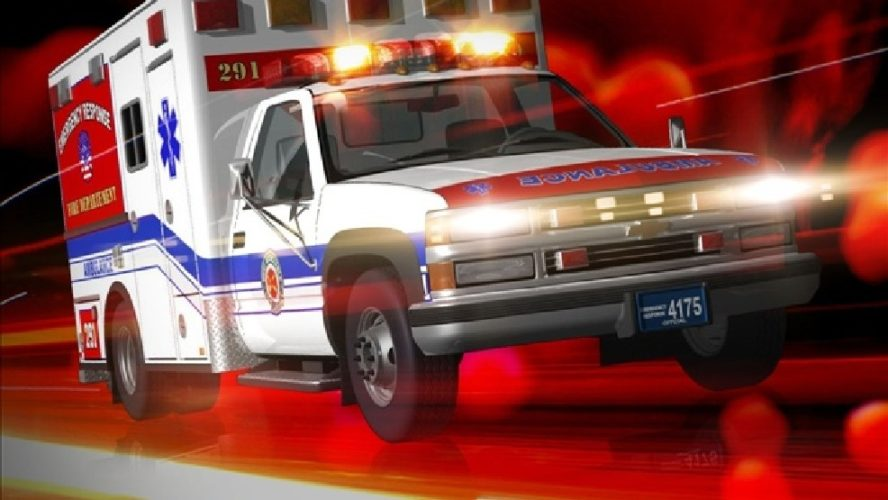 Holden resident injured in single-vehicle crash this morning