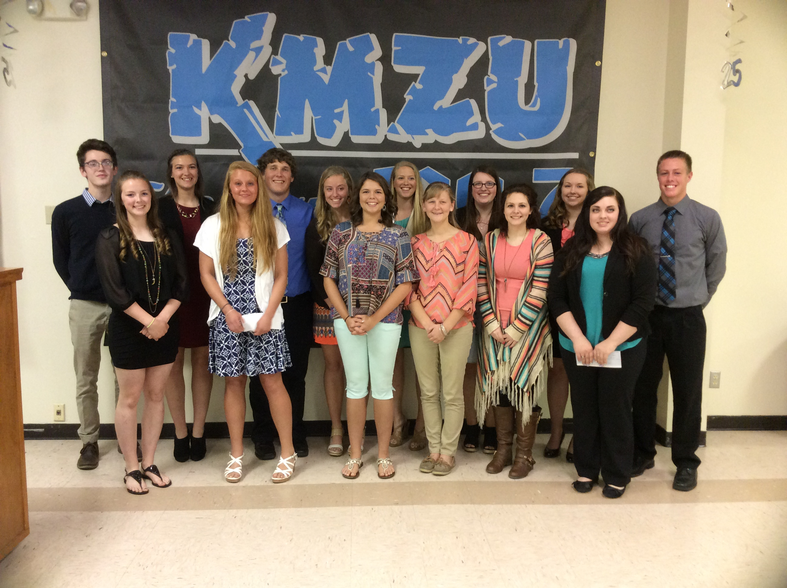 KMZU's 25th Annual Academic Achievement Awards Banquet