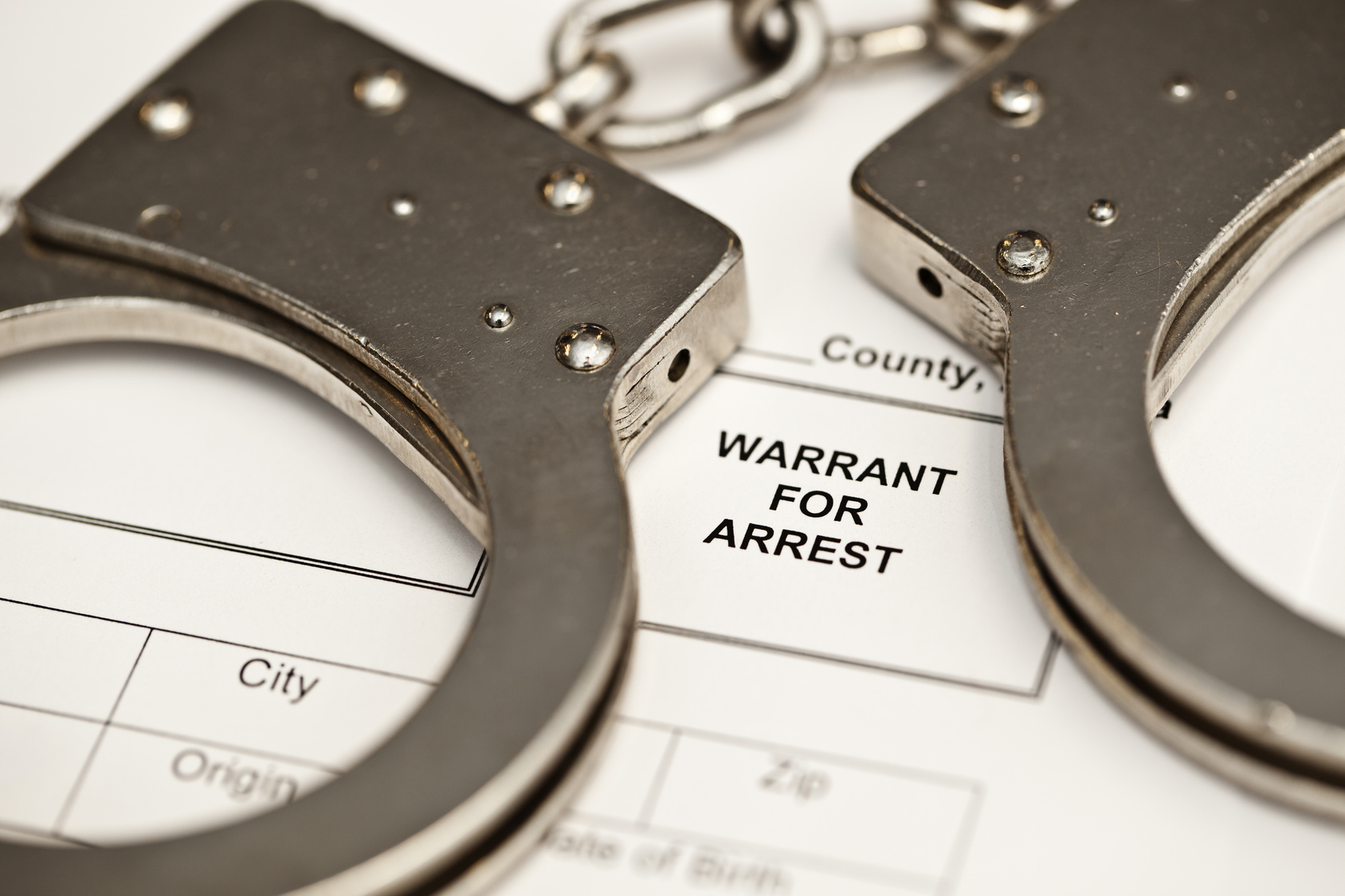 Hughesville resident arrested on outstanding warrant.