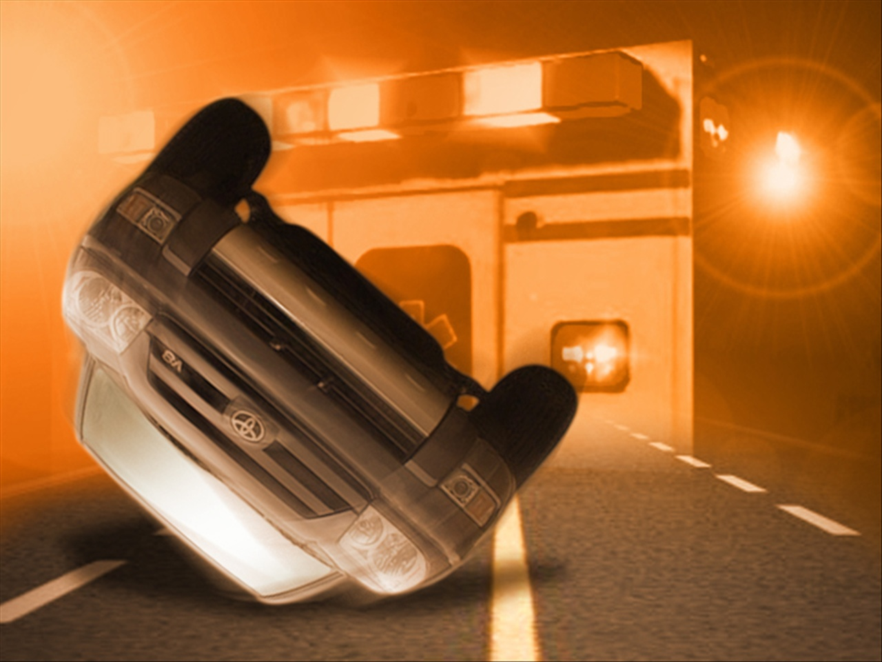 A rollover crash in Morgan County injures passenger
