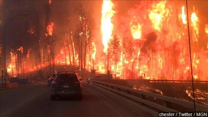 Canadian wildfires continue impacting region/nation