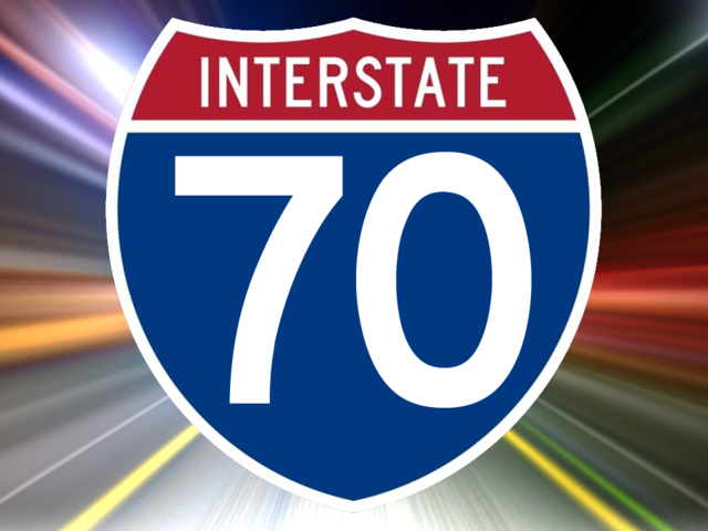 UPDATED – Two vehicles go off I-70 westbound at Concordia exit