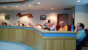 The full council was in attendance for the regular session Monday, June 13, 2016.