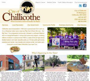 ChillicotheWebSiteHomePage