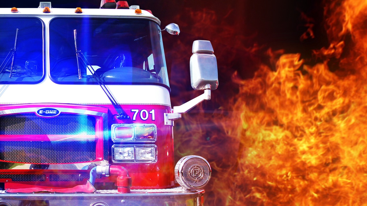 Trash truck catches fire in Boone County