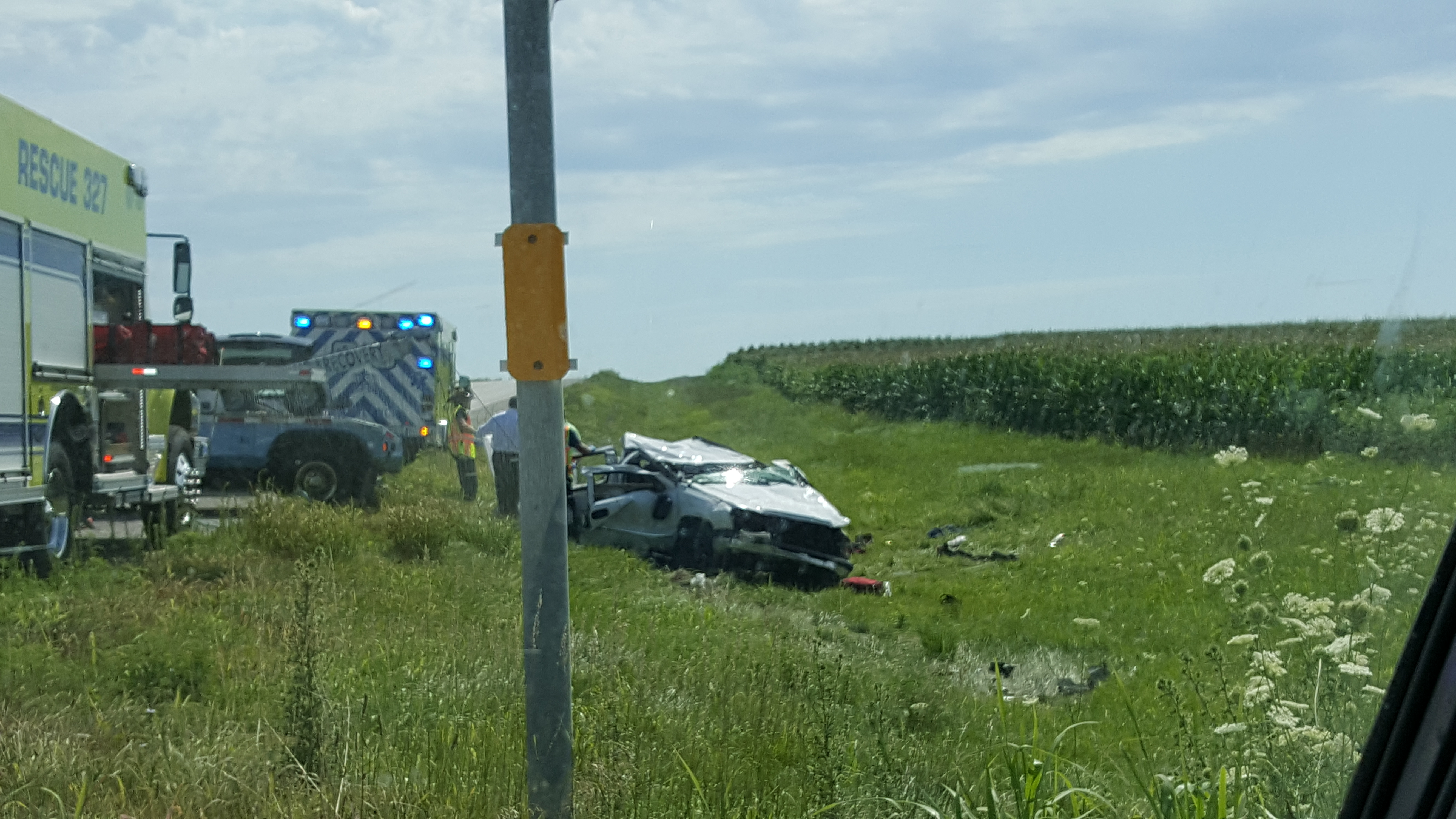 Fatal accident east of the Chillicothe airport