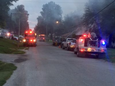 UPDATED – Home engulfed in flames in Waverly