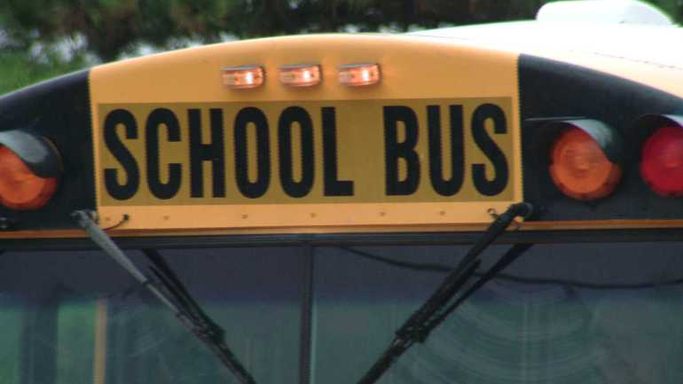 Injuries sustained in school bus accident