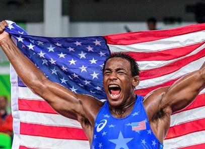 Former Tiger J'Den Cox an Olympic Medalist