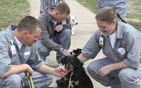 "Governor Nixon applauds Missouri's ""Puppies for Parole"" in Cameron"