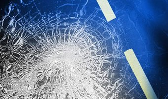 Two injured after vehicle traveled into a hole