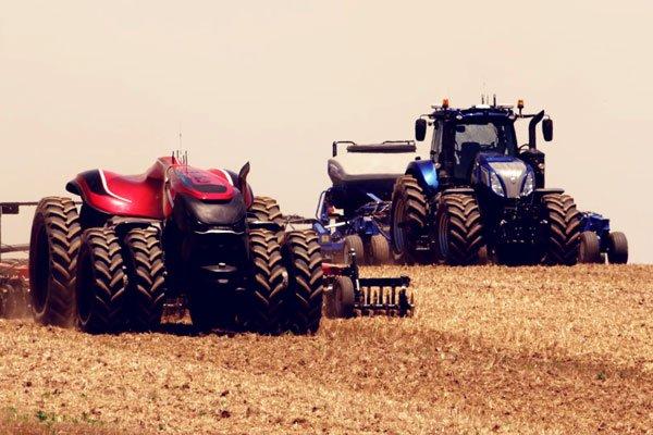 New concept autonomous tractors provide a look into the future of farming