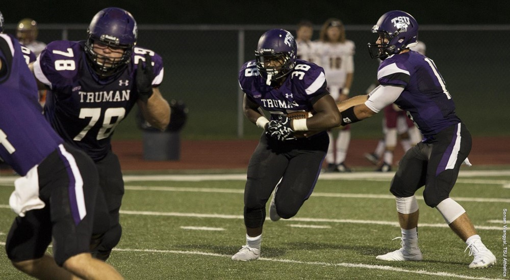 Truman State falls to #14 Midwestern State week 1