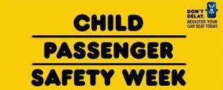 Tips on car seat safety for child passenger safety week