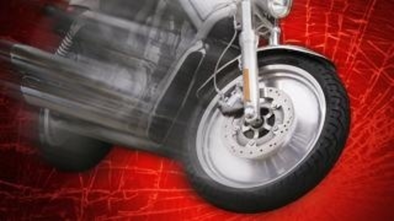 A motorcycle rear ended a car in Miller County Thursday
