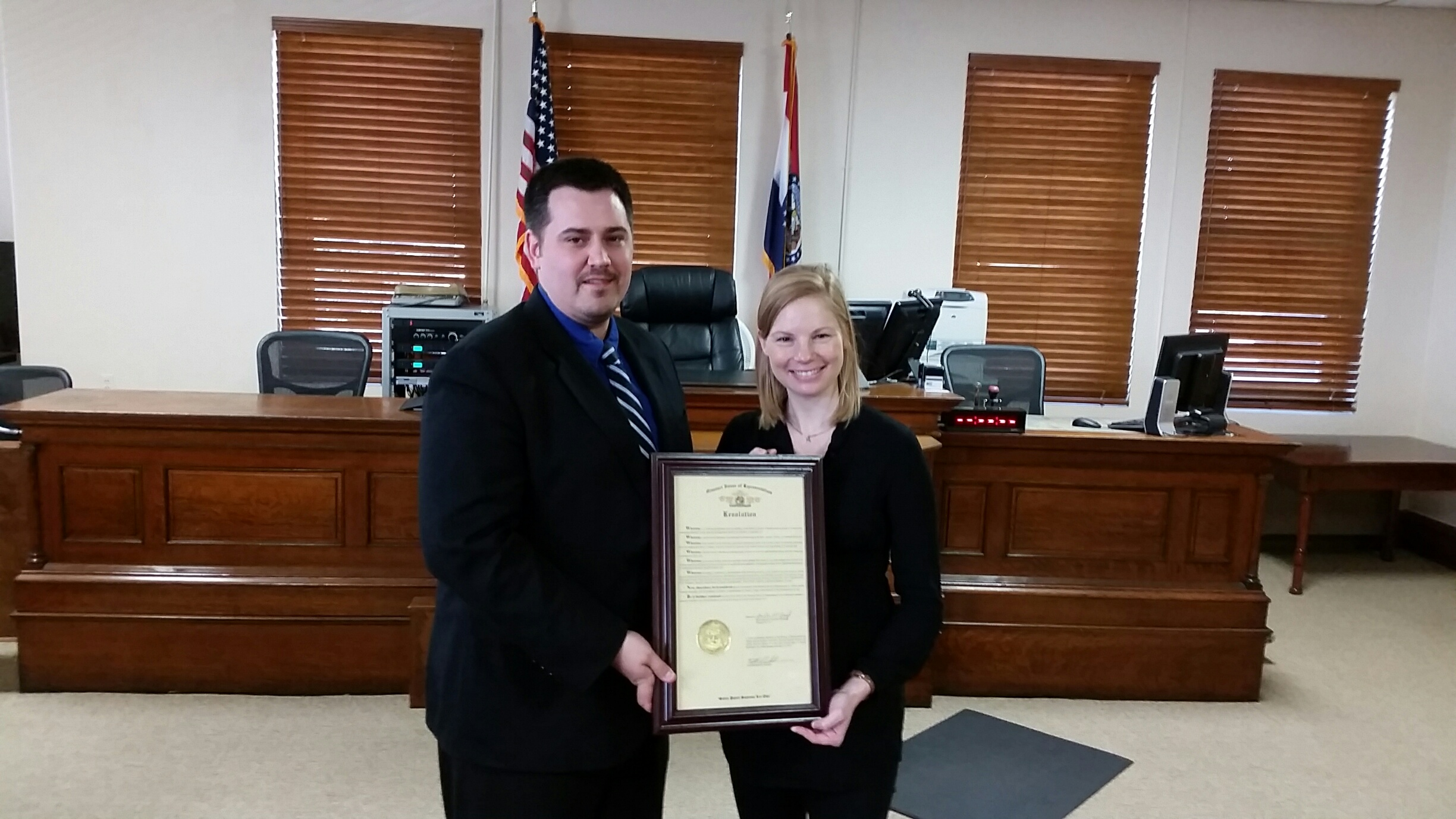 Carroll County earns excellent rating award