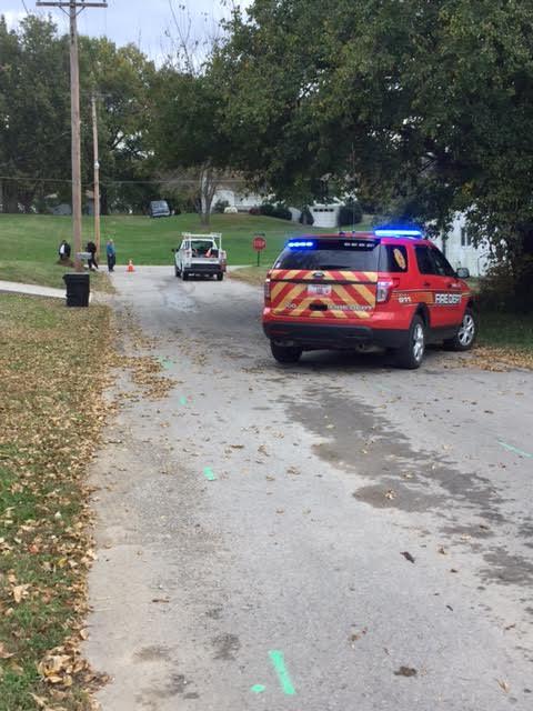 Streets blocked off for gas line break in Carrollton