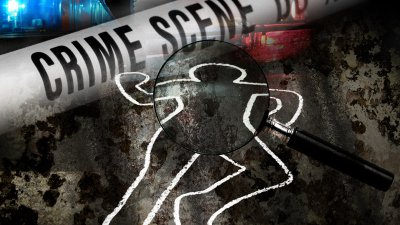 Cass County Sheriff's investigating the body of deceased male found in a field