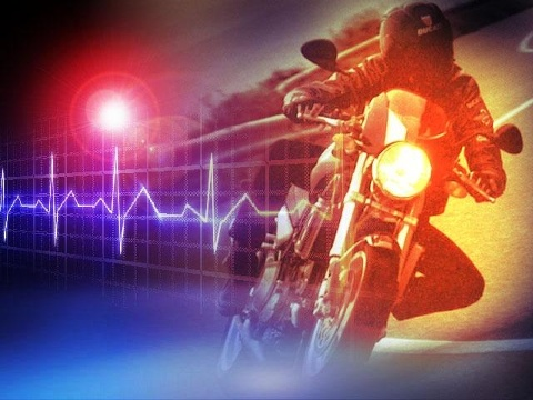 Motorcycle collides with car in Adair County