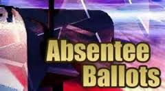 Today is last day to mail absentee ballot by parent or guardian