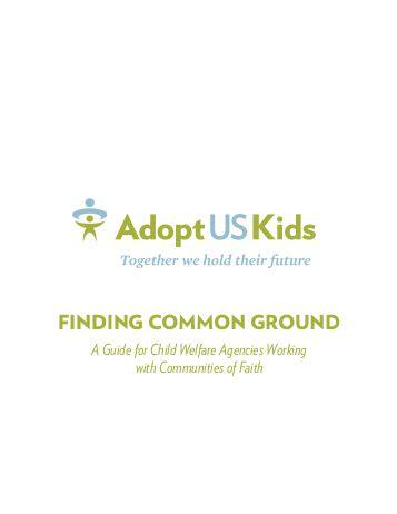 National push to adopt foster children