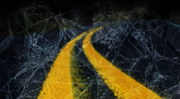 Serious crash involves ejection from vehicle