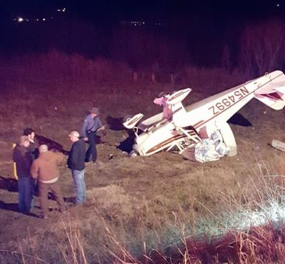 Plane crashes after clipping power line in SE Missouri