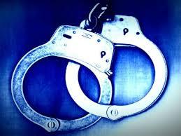 Speeding driver incarcerated for larceny warrant