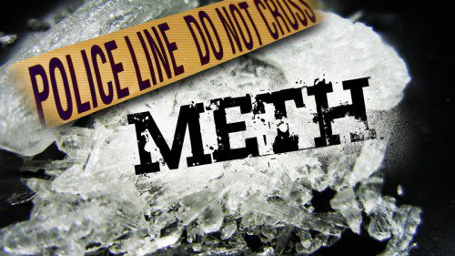 Richmond resident arrested under suspicion of meth-related charge