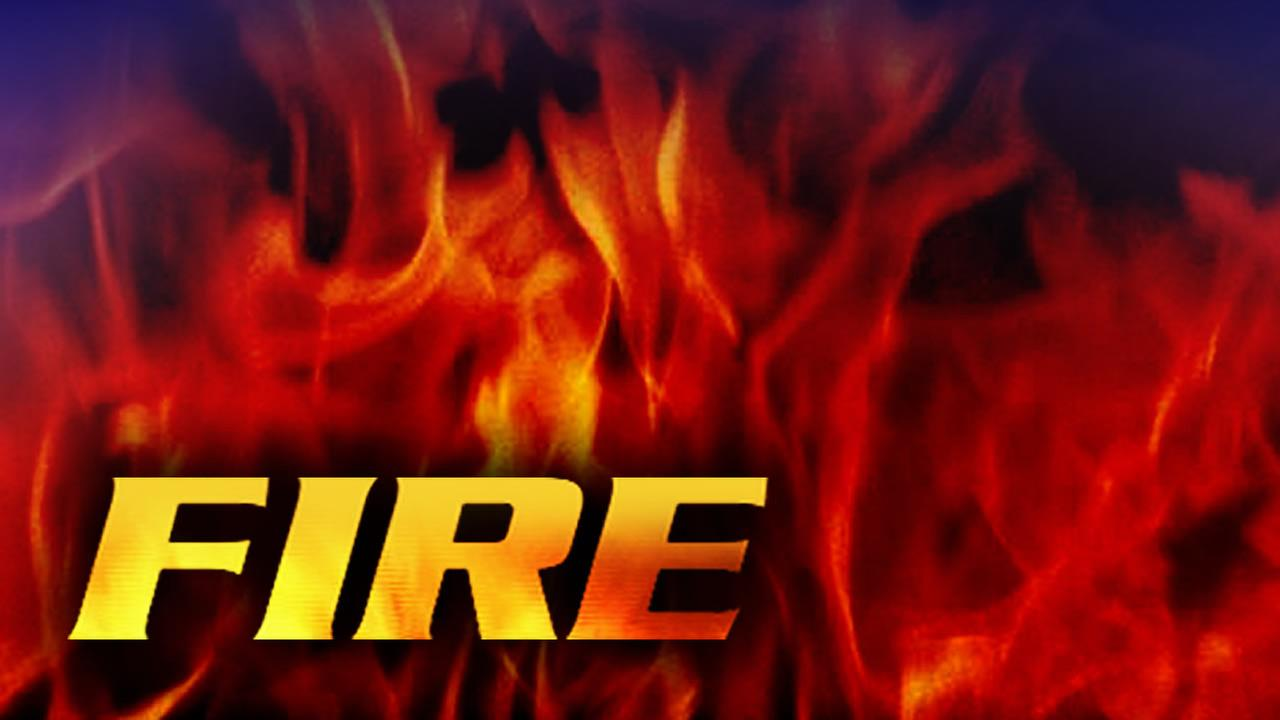 Fire reported in DeWitt