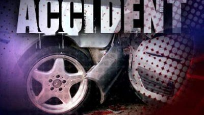 Family injured after one vehicle accident
