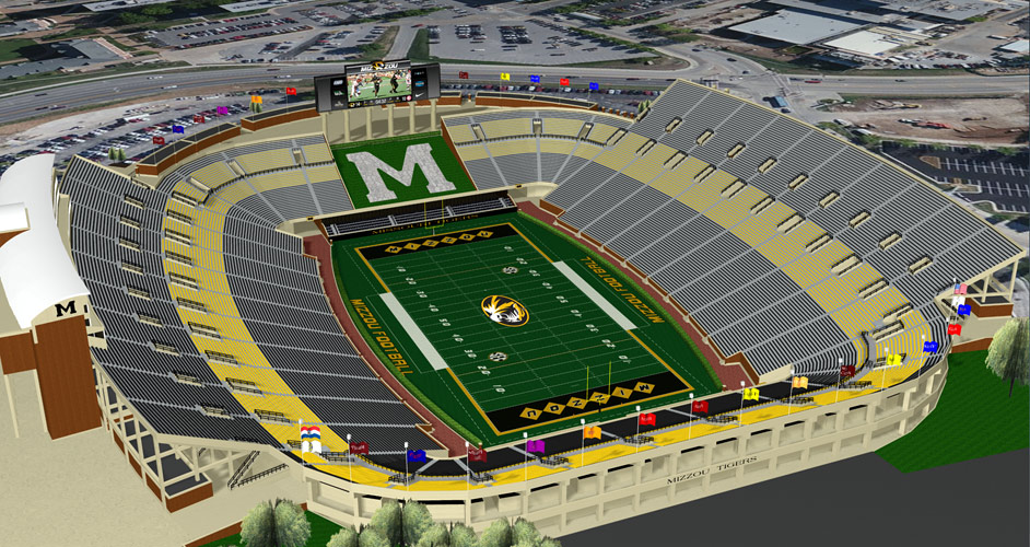 Curators hire architect for Missouri stadium renovation