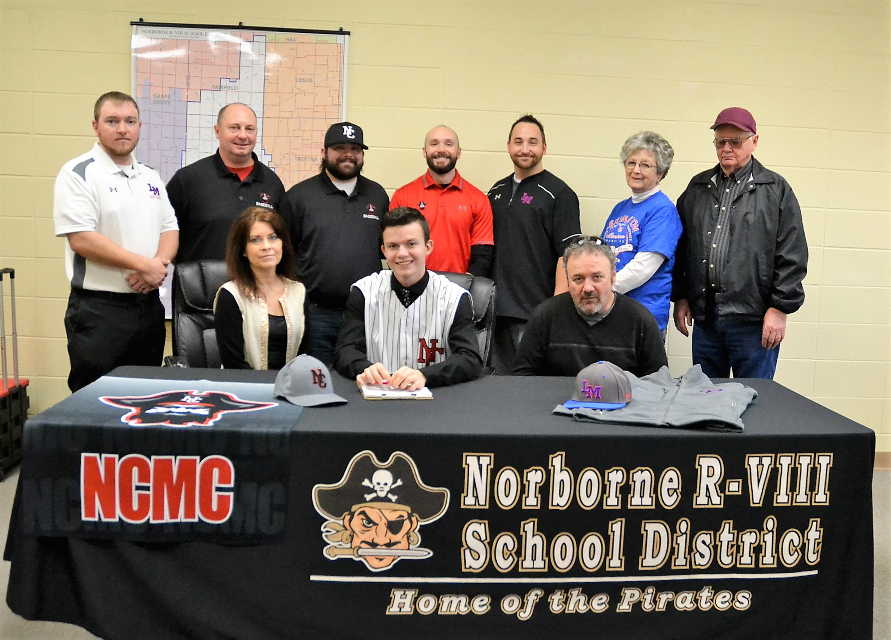 Local athlete signs with NCMC baseball program