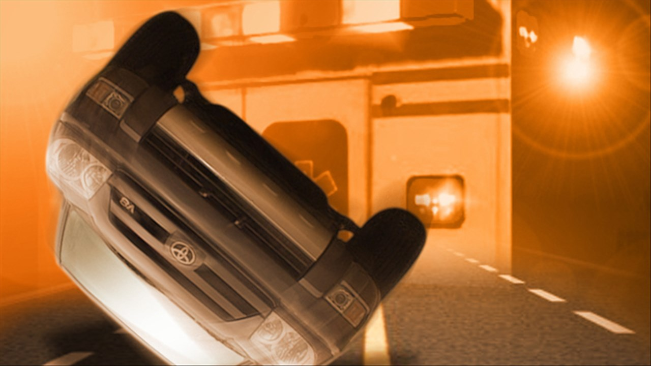Vehicle overturned in Linn County accident