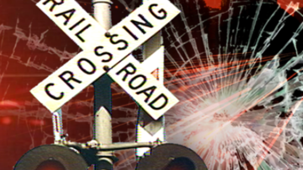Train hits car in Caldwell County