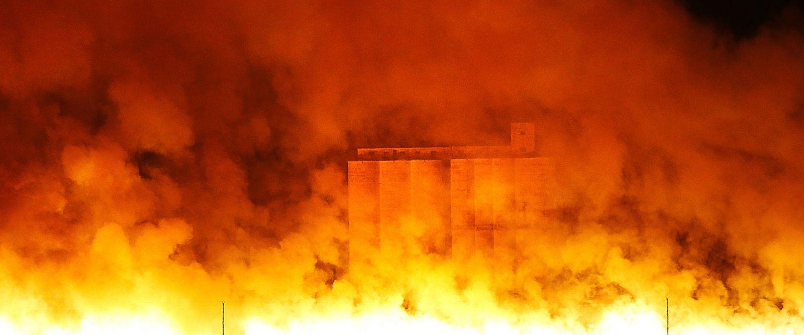 Cattle, Wildlife, Suffer in Kansas Fires
