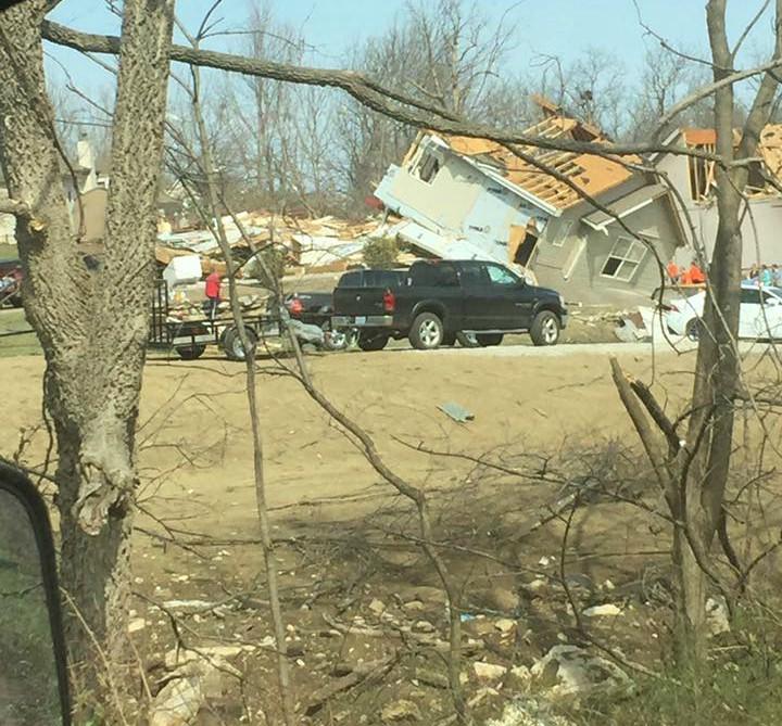 NEWSMAKER — Oak Grove getting back on its feet after devastating tornado
