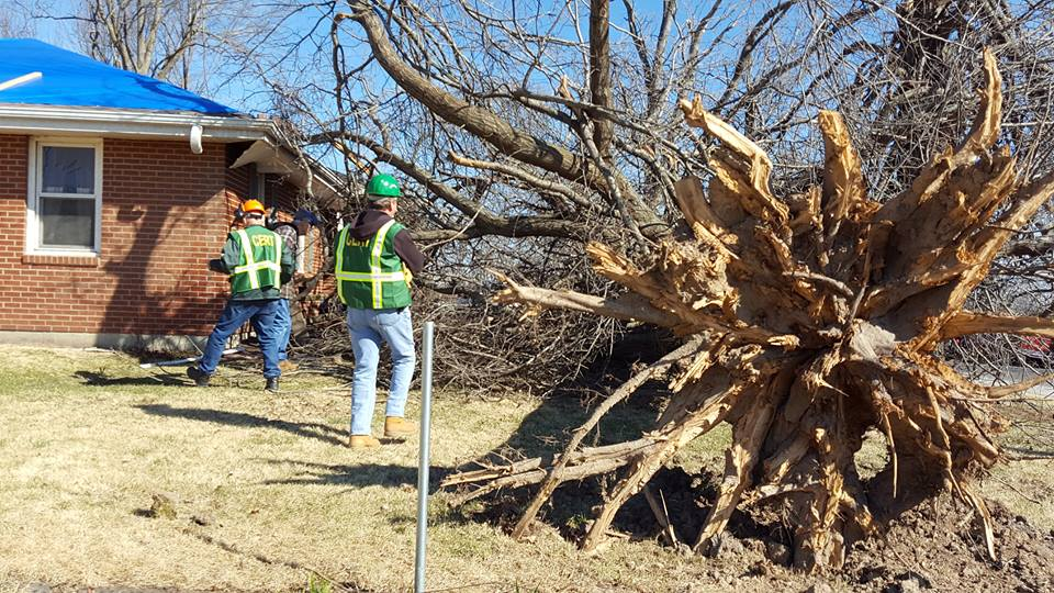 NEWSMAKER — Oak Grove surveys tornado damage, looks to the future