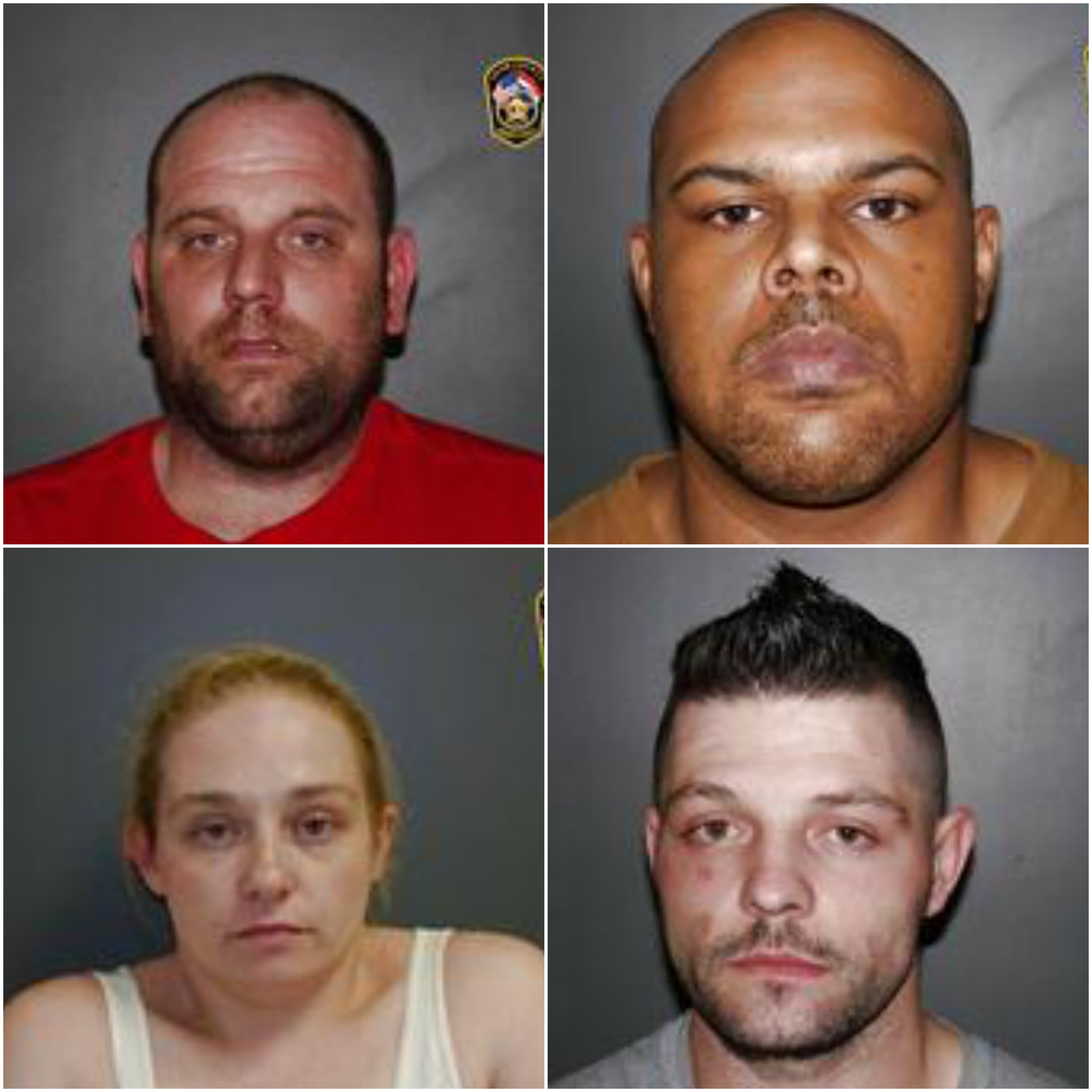 Drug trafficking incident leaves four with felony charges