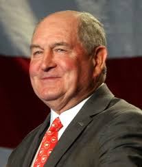 Is confirmation in the cards for Sonny Perdue today?