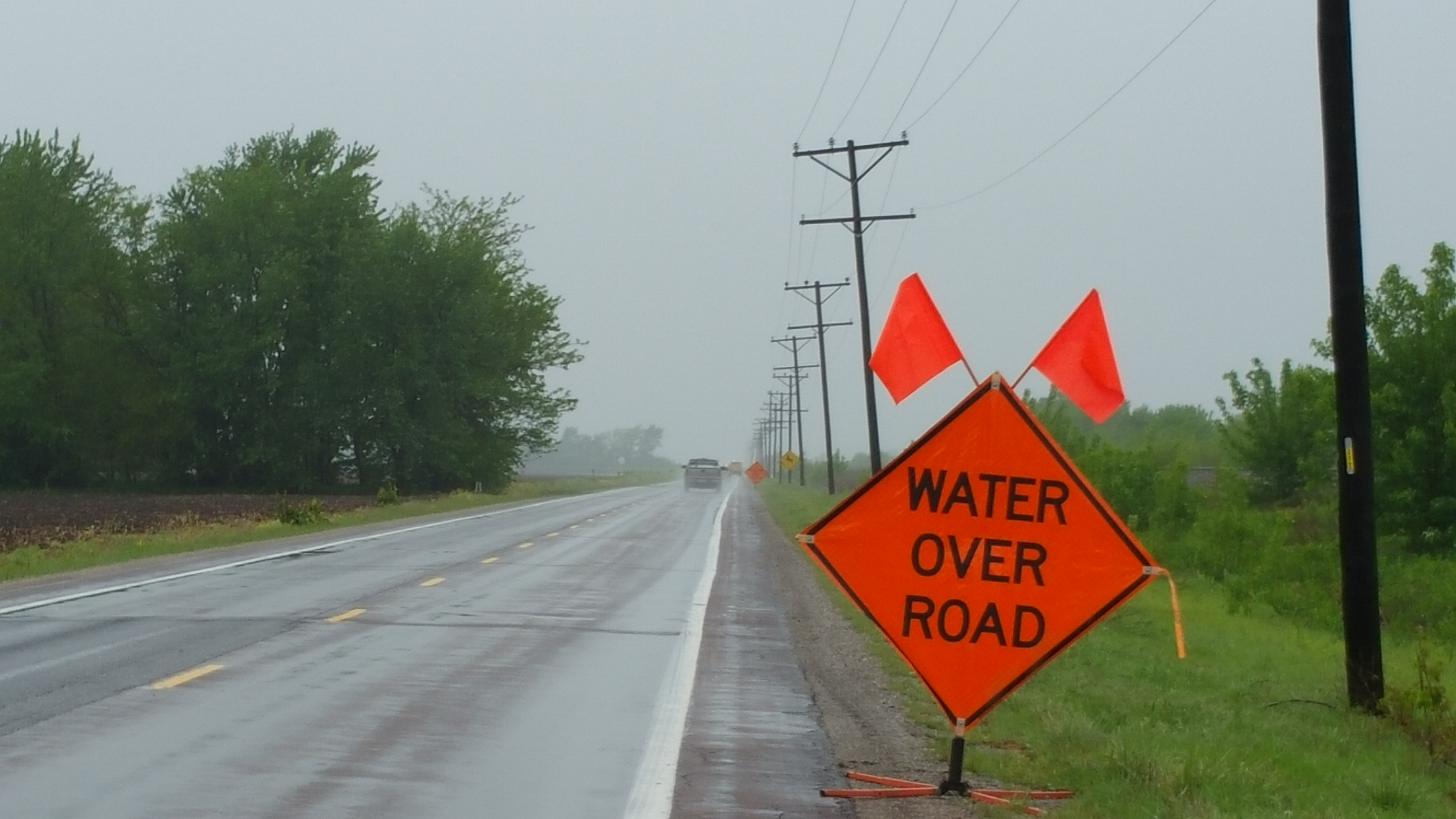 Highway 10 in Carroll County one of many road closures due to flooding
